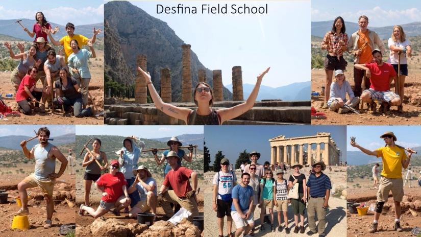 desfina field school
